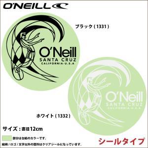O'NEILL オニール ステッカー GO-1331 GO-1332 O'RIGIGINALステッカー シールタイプ|maniac
