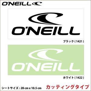 O'NEILL オニール ステッカー GO-1421 GO-1422 ロゴステッカー|maniac