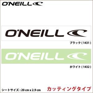 O'NEILL オニール ステッカー GO-1431 GO-1432 WAVEステッカー カッティングタイプ|maniac