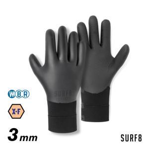 予約販売 SURF8 グローブ 3mm サーフグローブ サーフエイト 81F2X8 3mmスムースラ...