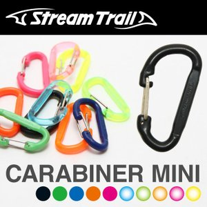 StreamTrail ストリームトレイル ミニカラビナ CARABINER MINI キーホルダー|maniac
