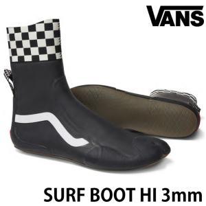 VANS バンズ ヴァンズ サーフブーツ SURF BOOTS HI 3mmブーツ トリップサーフシ...