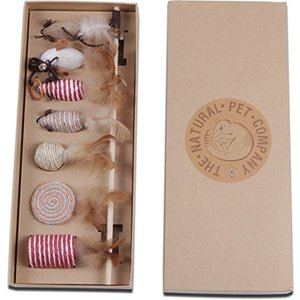 猫おもちゃ ネコ ねこ jsed The Natural Pet Company Cat Toys Collection in Gift Box|maniacs-shop
