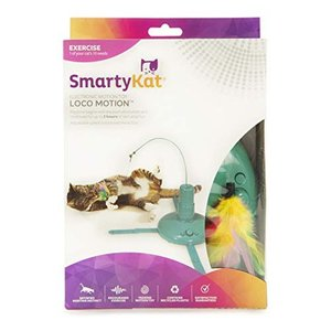 猫おもちゃ ネコ ねこ 32001 SmartyKat, Loco Motion, Electronic Motion Cat Toy, Interactive Wand, With|maniacs-shop