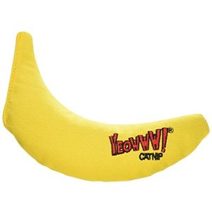 猫おもちゃ ネコ ねこ DW00004-3 Yeowww! 100% Organic Catnip Toy, Yellow Banana 3 Pack|maniacs-shop