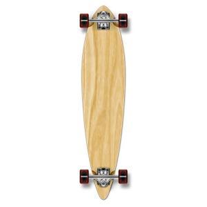 ロングスケートボード スケボー 海外モデル 01060P-Natural-40