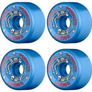 ウィール タイヤ スケボー DECK Powell Peralta G-Bones II 97a 64mm Blue Skateboard Wheels (Set of 4) maniacs-shop