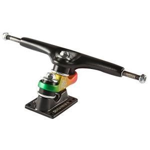トラック スケボー スケートボード 1TGUL0SIW2100KJ Gullwing Sidewinder II 10.0 Black/Rasta Skateb maniacs-shop