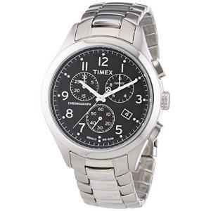 腕時計 タイメックス メンズ T2M469 Timex Men's T2M469 T Series Chronograph Silver-Tone Stainless St|maniacs-shop