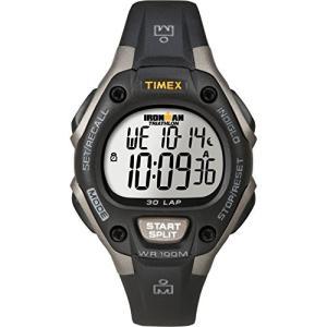 腕時計 タイメックス レディース T5E961 Timex Women's Ironman 30-Lap Digital Quartz Mid-Size Watch|maniacs-shop