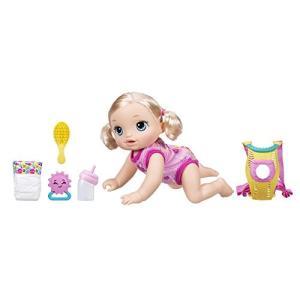 喋る・ハイハイする・オムツ替えができるお人形★ベビーアライブ ベビーゴーバイバイ ブロンド はいはい|maniacs-shop