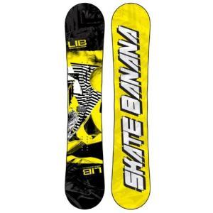 スノーボード ウィンタースポーツ リブテック Lib Tech Skate Banana Wide Snowboard Yellow 153|maniacs-shop