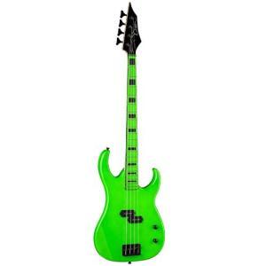 ディーンDean Custom Zone Bass, Nuclear Green