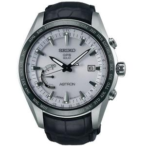 腕時計 セイコー メンズ SSE093J1 SEIKO Astron SSE093J1 Silver Leather Man Chronograph|maniacs-shop
