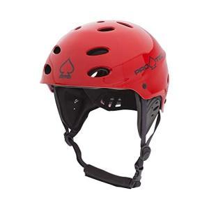 ウォーターヘルメット 安全 マリンスポーツ 200005103 Pro-Tec Rescue Ace Water, Gloss Red, S|maniacs-shop