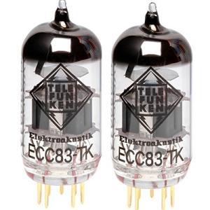 テレフンケン 真空管 マッチドペア 2ピース ECC83-TK 12AX7 ペアチューブ maniacs-shop