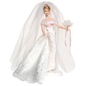 バービー Barbie 洗練されたウェディングバービー コレクタードール ブライダルコレクション 53370|maniacs-shop