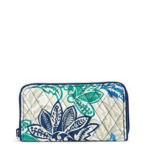 ヴェラブラッドリー Vera Bradley 財布 シグネチャーコットンジョージアウォレット RFID保護付き サンティアゴ|maniacs-shop