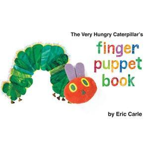 海外製絵本The Very Hungry Caterpillar's Finger Puppet B...