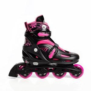 インラインスケート 海外正規品 並行輸入品 HBRB-1 High Bounce Adjustable Inline Skate (Pink,|maniacs-shop