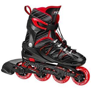インラインスケート 海外正規品 並行輸入品 I141B Roller Derby Boy's Stinger 5.2 Adjustable In|maniacs-shop