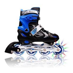 インラインスケート 海外正規品 並行輸入品 FBA_C100L Xino Sports Adjustable Inline Skates for|maniacs-shop