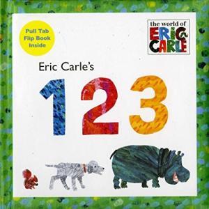 海外製絵本 知育 英語 9780448451947 Eric Carle's 123 (The World of Eric Carle)|maniacs-shop