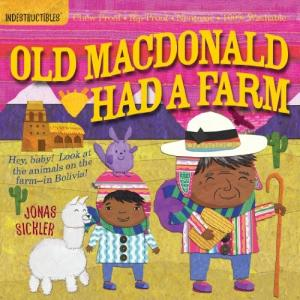 今だけポイント10倍 海外製絵本Indestructibles: Old MacDonald Had...