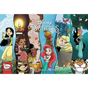 海外製絵本 知育 英語 Disney Princess Comic Strips Collection|maniacs-shop