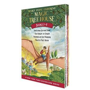 マジックツリーハウス 1〜4セット ジャックとアニーの兄妹のお話 メアリー・ポープ・オズボーン 児童文学 英語の本|maniacs-shop