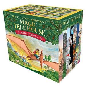 海外製絵本 知育 英語 9780375849916 Magic Tree House Boxed Set, Books 1-28|maniacs-shop