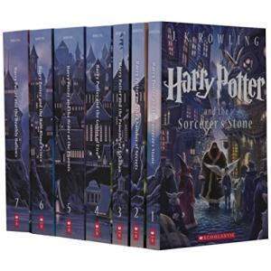 海外製絵本 知育 英語 9780545596275 Harry Potter Complete Book Series Special Edition Boxed Set|maniacs-shop