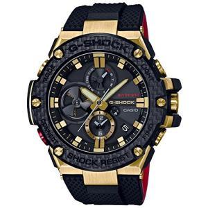 腕時計 カシオ メンズ GST-B100TFB-1AJR CASIO G-Shock GST-B100TFB-1AJR G-Steel Bluetooth Chronograph Go|maniacs-shop