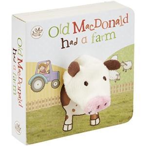今だけポイント10倍 海外製絵本Old MacDonald had a Farm Finger Pu...