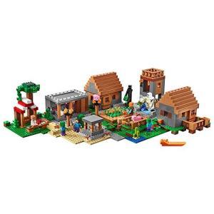 レゴ (LEGO) MINECRAFT マインクラフト 村 1600ピース 21128|maniacs-shop