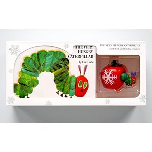 今だけポイント10倍 海外製絵本The Very Hungry Caterpillar Board Book and Ornament Packageの商品画像