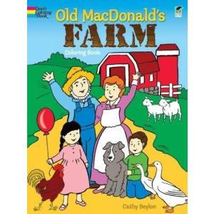 今だけポイント10倍 海外製絵本Old MacDonald's Farm Coloring Book...