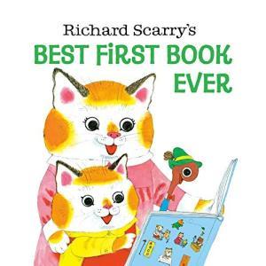 海外製絵本 知育 英語 9780394842509 Richard Scarry's Best First Book Ever|maniacs-shop