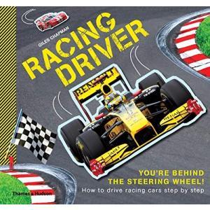 海外製絵本 知育 英語 Illustrated Racing Driver: How to drive racing cars step by step|maniacs-shop