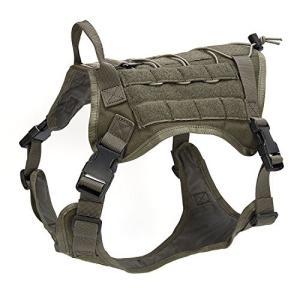 ドッグパック 海外正規品 並行輸入品 dogpack3cf-XL Companet Tactical Dog Harness Molle Dog Vest maniacs-shop