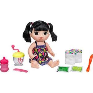 ベビーアライブ スイートスプーンフルベビー ミキサーでベビーフードを作ってお人形に食べさせよう アジア系 オムツ交換|maniacs-shop