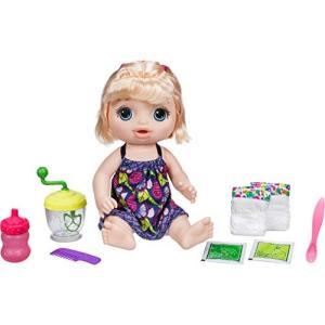 ミキサーでベビーフードを作ってお人形に食べさせよう★ベビーアライブスイートスプーンフルベビーブロンド オムツ交換|maniacs-shop