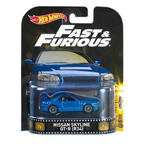 ホットウィール Hot Wheels 日産 スカイライン GT-R 映画「ワイルド&スピード」