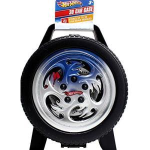 ホットウィール HotWheels ハンドルつき収納ケース 30台保管 タイヤの形|maniacs-shop
