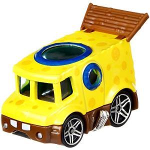 ホットウィール マテル ミニカー FLJ21 Hot Wheels Spongebob Vehicl...