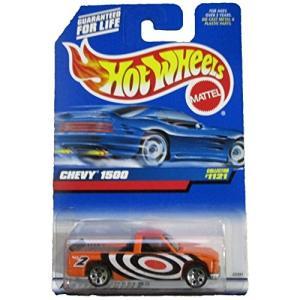 ホットウィール マテル ミニカー Hot Wheels #1121 Chevy 1500 Orang...