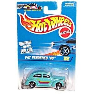 ホットウィール マテル ミニカー 1 Hot Wheels - Fat Fendered '40 -...