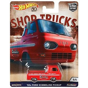 ホットウィール マテル ミニカー FLC24 Hot Wheels 60's Ford Econol...