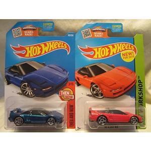 ホットウィール マテル ミニカー #103 Hot Wheels '90 Acura NSX Blu...