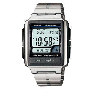 腕時計 カシオ メンズ WV-59DJ-1AJF CASIO watch WAVE CEPTOR Waveceptor radio clock MULTIBAND 5 WV-59DJ-|maniacs-shop